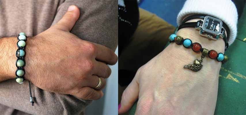 Как носить браслет Шамбала